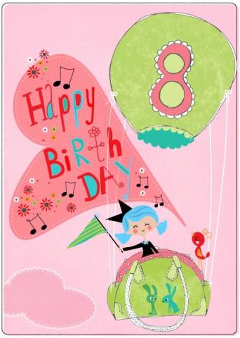 Happy eight