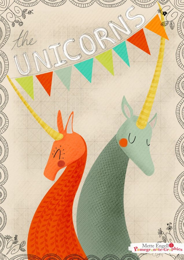 MetteEngell_unicorns