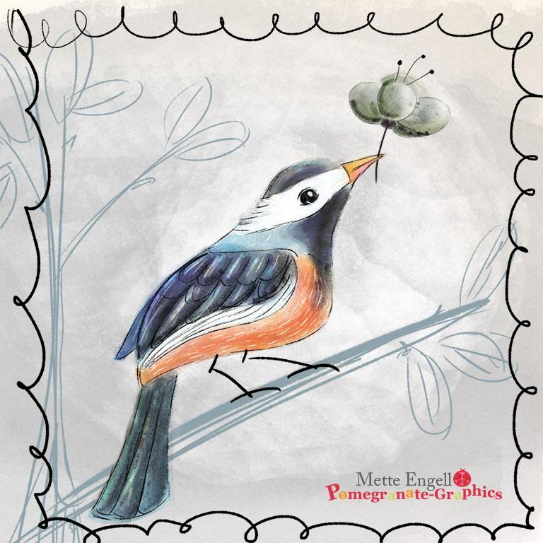 MetteEngell_Bird01